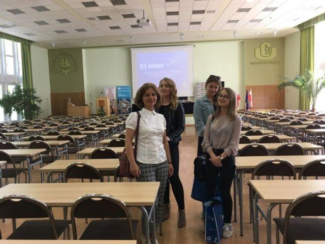 II miejsce uczennicy I LO w Malborku w konkursie wiedzy o Unii Europejskiej