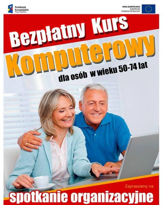 Gmina Miłoradz : Zapraszamy na bezpłatny kurs komputerowy dla osób w wieku 50+