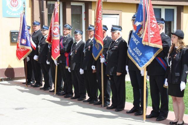 Obchody 50-lecia istnienia Ochotniczej Straży Pożarnej w Szawałdzie.