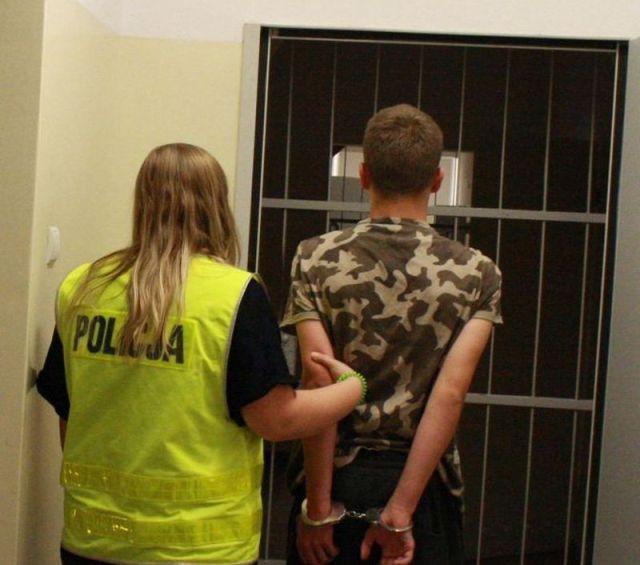 Trzymał narkotyki w altance na terenie ogródka. 20-latek aresztowany przez malborskich funkcjonariuszy.