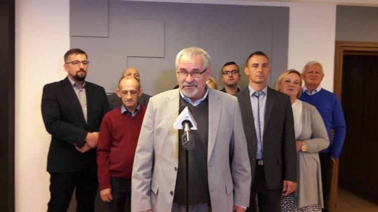 Konferencja KWW Samorząd Tworzą Obywatele.
