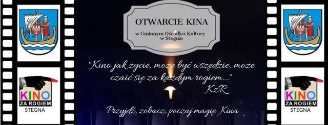 Kino za Rogiem w Stegnie. Zapraszamy na Dzień Otwarty!