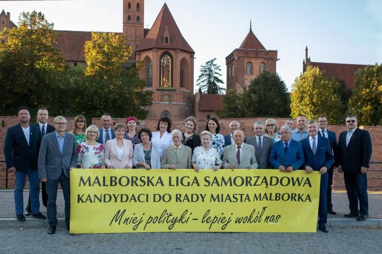 """""""Mniej polityki, lepiej wokół nas"""" – poznaj program i kandydatów Malborskiej Ligi Samorządowej"""