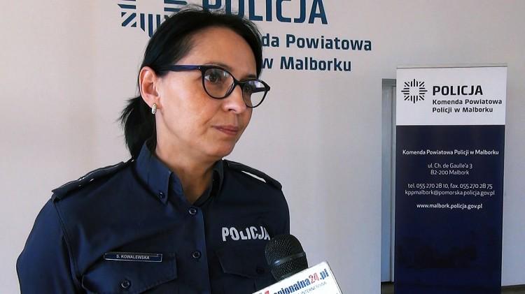 Przez miasto jechał ponad 100 km/h. Śmiertelny wypadek w Brzózkach. Weekendowy raport malborskich służb mundurowych.