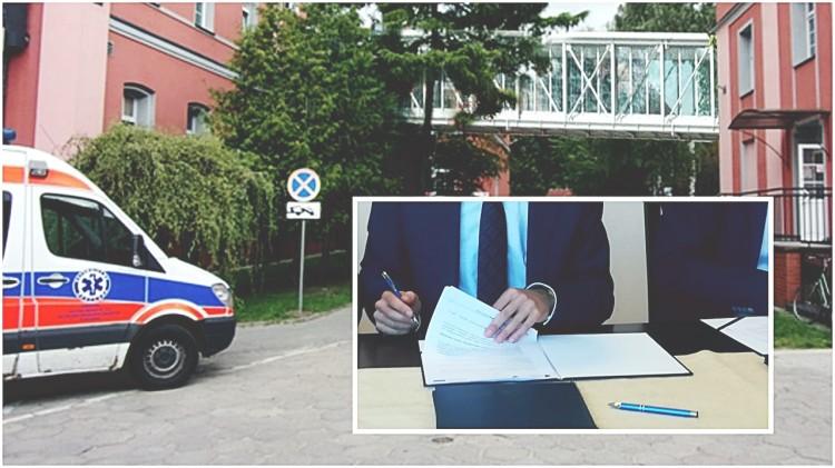 Powstanie łącznik miedzy szpitalnymi oddziałami. Podpisane umowy przewidują wiele udogodnień