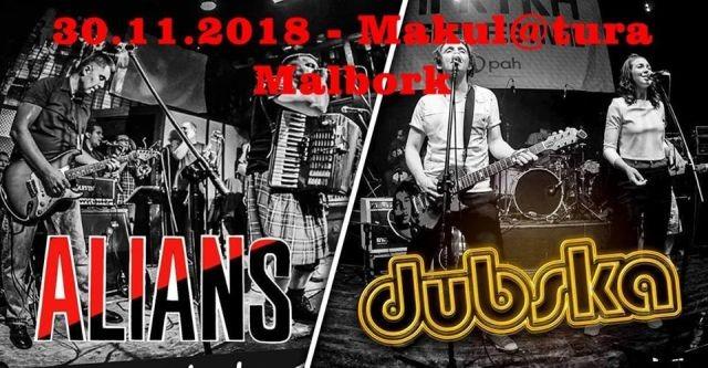 Alanis i Dubska w malborskiej Makul@turze. Zapraszamy na koncerty.
