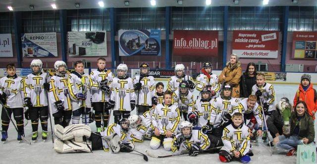 Wygrana malborskich hokeistów w meczu ligowym z BKS Bydgoszcz.