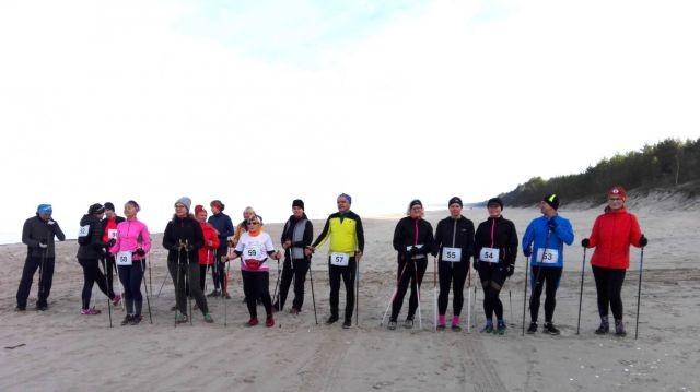 Kąty Rybackie: VII Jesienny Rajd Nordic Walking w Krainie Kormoranów za nami.