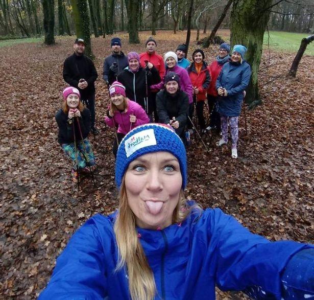 """""""Spacer po zdrowie"""" z kijami Nordic Walking – Anna KOSA Kosińska zaprasza."""
