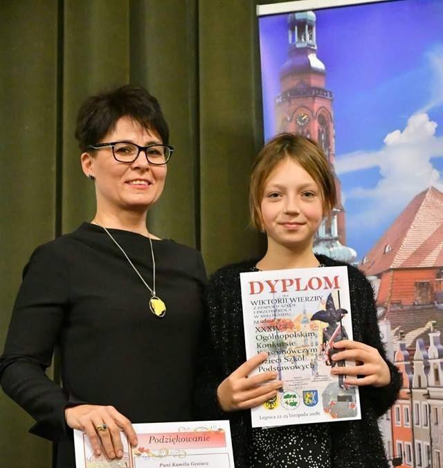 Uczennica z Miłoradza reprezentowała Pomorze w Ogólnopolskim Konkursie Krasomówczym w Legnicy