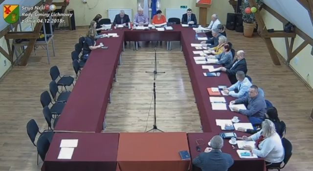 II sesja Rady Gminy Lichnowy. Zobacz na żywo