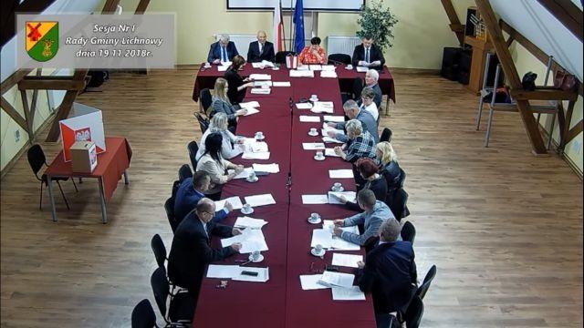 I sesja Rady Gminy Lichnowy.