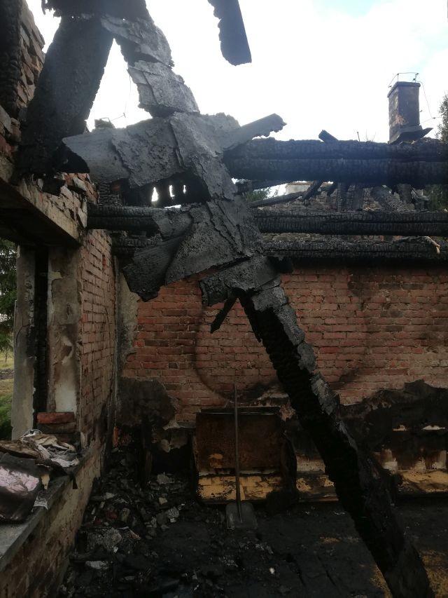 Marynowy: Stracił dorobek całego życia w pożarze. Wszyscy możemy pomóc Panu Kazimierzowi.