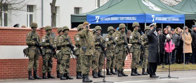 Terytorialsi złożyli przysięgę w Słupsku