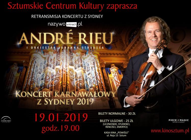 Orkiestra Johanna Straussa w Sztumskim Centrum Kultury.