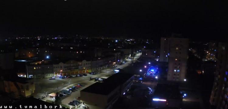 W sylwestrową noc wyskoczył z 2 piętra – malborskie służby mundurowe podsumowały działania.