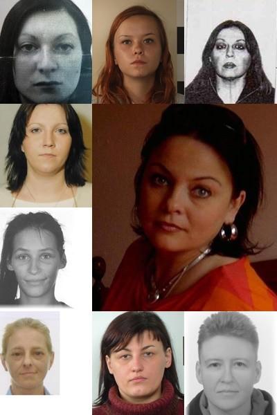 Dziewiętnaście niebezpiecznych kobiet. Poszukiwane przez policję na Pomorzu.