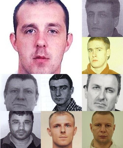 Dwudziestu najgroźniejszych przestępców na Pomorzu. Zobacz rysopisy i zdjęcia mężczyzn.