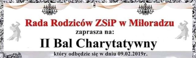 II Bal Charytatywny w Miłoradzu.
