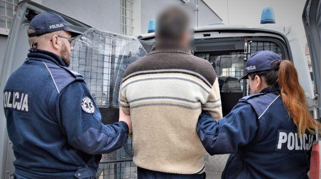 Zatrzymany za kradzież i rozbój. 45-letni obywatel Mołdawii w rękach policji.