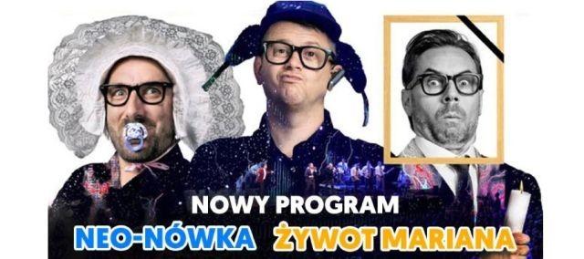 """""""Żywot Mariana"""", czyli kabaret Neo-Nówka w Malborku."""