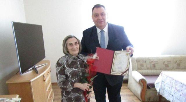 90. urodziny mieszkanki Gminy Stare Pole