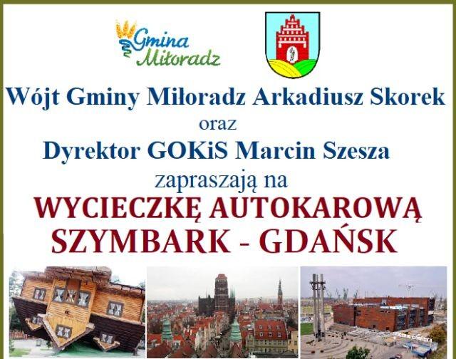"""""""Aktywny Senior – Aktywna Gmina"""". Wyjazd dla mieszkańców Gminy Miłoradz do Szymbarku i Gdańska"""