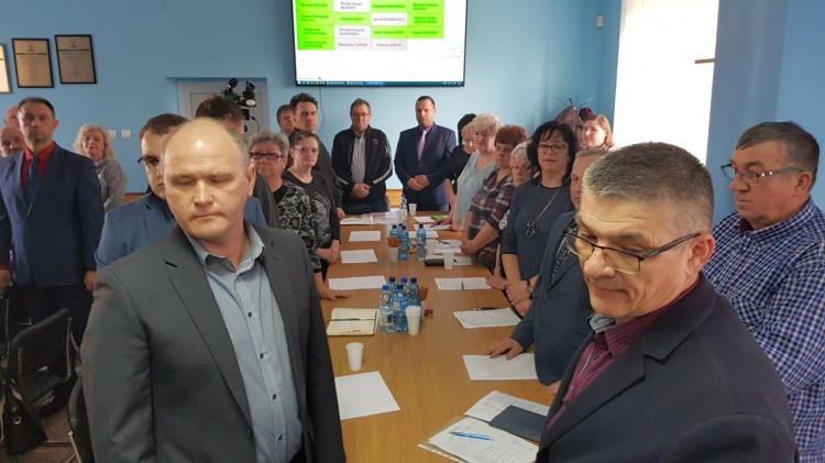 Ślubowanie Sołtysów wybranych na kadencję 2019-2024. V sesja Rady Gminy Malbork