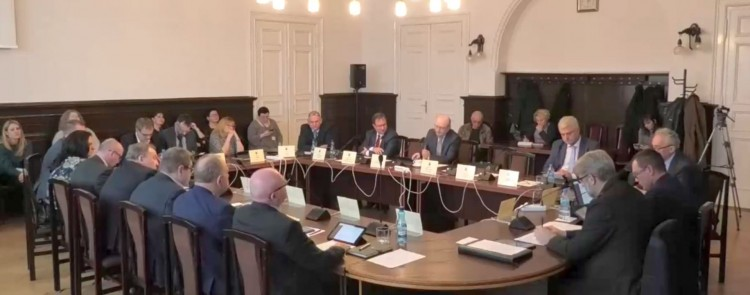 VI sesja Rady Powiatu Malborskiego. Na żywo.