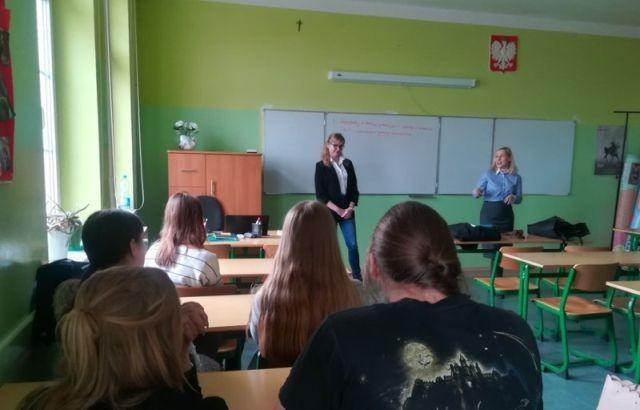 Warsztaty prawne w malborskim II LO