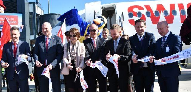Z Gdańska do Zurychu liniami SWISS już od 1 kwietnia