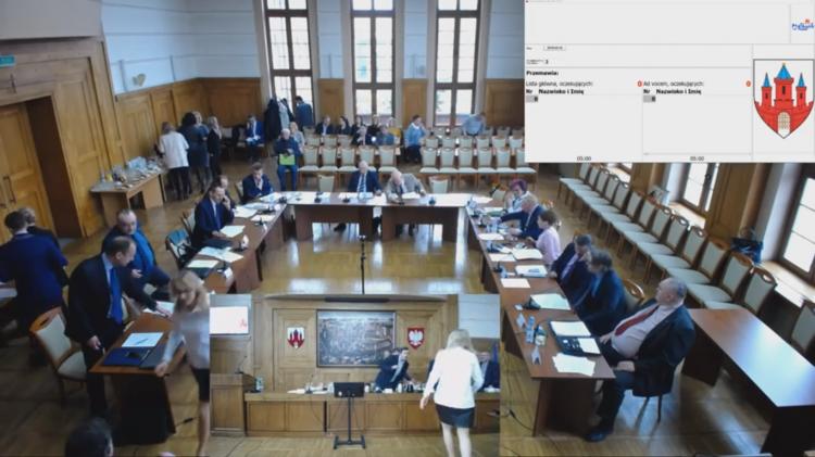 VII sesja Rady Miasta Malborka. Zobacz na żywo.