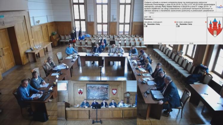 VIII nadzwyczajna sesja Rady Miasta Malborka. Zobacz na żywo.
