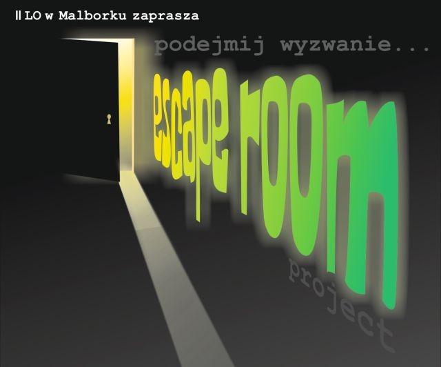 ,,Escape room'' w Malborku.