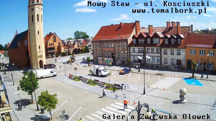 Nowy Staw: Rynek Kościuszki i Rynek Pułaskiego zamknięte dla ruchu kołowego