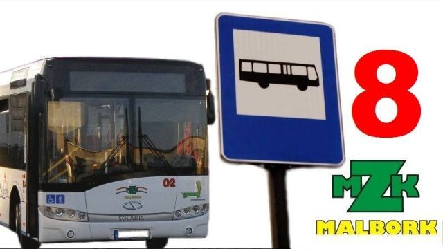 Malbork: Od 1 czerwca linia nr 8 pojedziemy między innymi do Parku Dinozaurów.