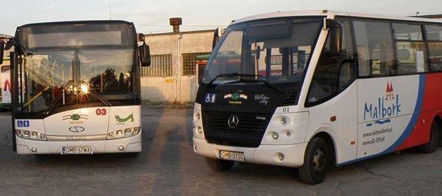 Zmiany w rozkładzie jazdy autobusów MZK Malbork.