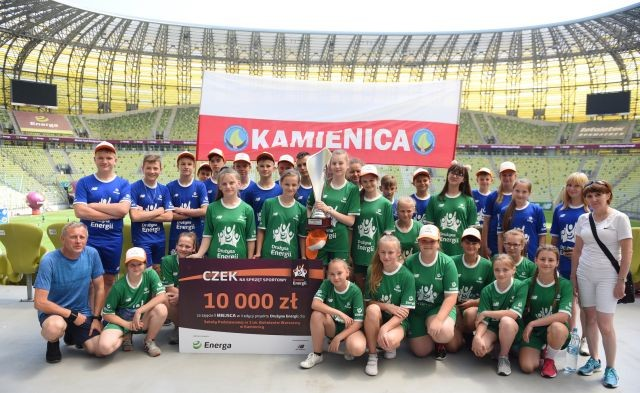 Sportowa rywalizacja uczniów opanowała cały kraj. Wielki Finał Drużyny Energii za nami!