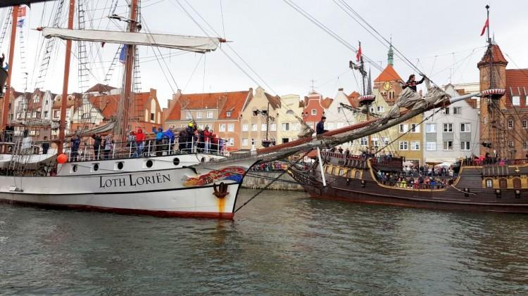 Parada Żaglowców na Motławie. Baltic Sail Gdańsk 2019
