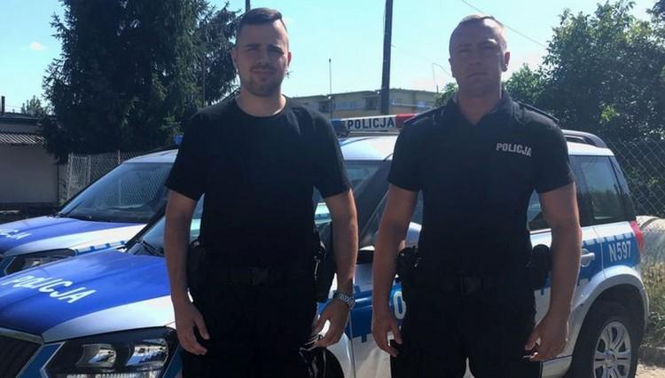 Dwóch policjantów malborskiej komendy zapobiegło samobójstwu 42 – latka.