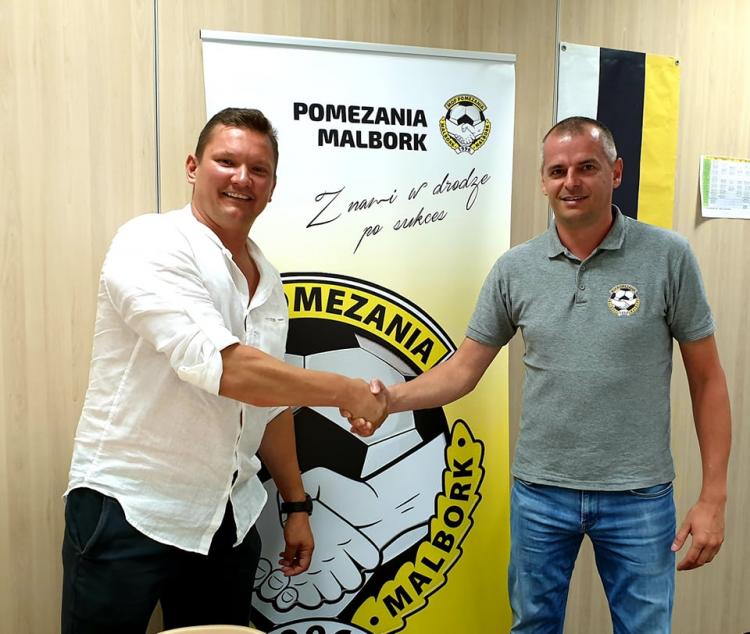 Rzemiosło Budowlane Arkadiusz Rawiński przyłączył się do grona sponsorów Pomezanii