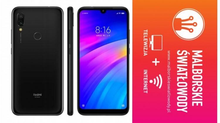 Zgarnij Smartfon Xiaomi Redmi 7 3/32 GB. Malborskie Światłowody zapraszają do udziału w konkursie