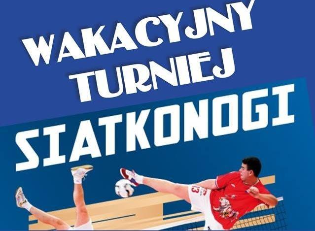 Wakacyjny Turniej Siatkonogi w Starym Polu.
