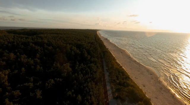 Krynica Morska: Zobacz trasę rowerową R-10 z promenadą nad Bałtykiem