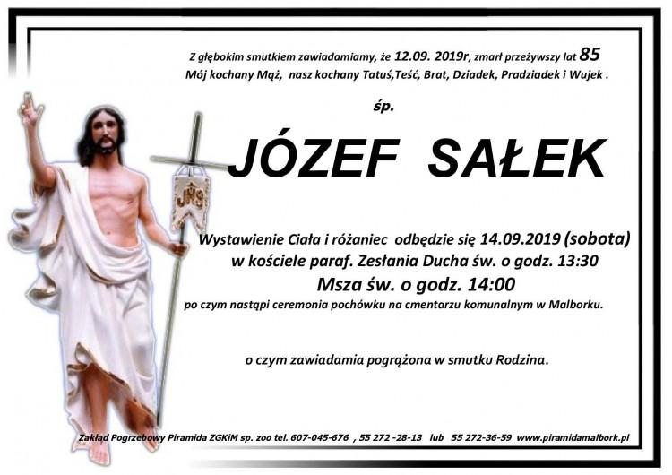 Zmarł Józef Sałek. Żył 85 lat.