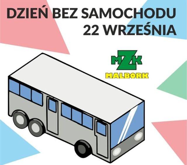 Malbork: 22 września - Europejski Dzień bez Samochodu.