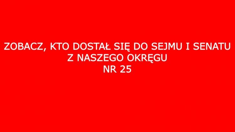 Zobacz, kto z naszego okręgu dostał się do Sejmu i Senatu.