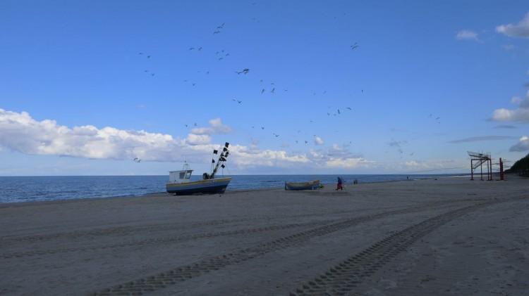 Plaża w Stegnie już po refulacji. Zobacz, jak teraz wygląda.