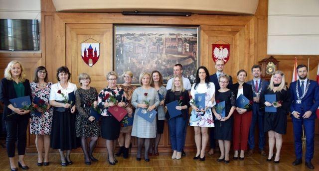 Nagrody Burmistrza Miasta Malborka z okazji Dnia Edukacji Narodowej