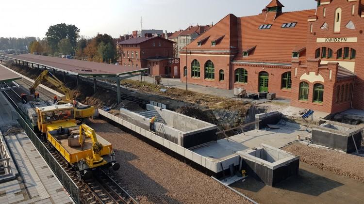 Pociągi do Kwidzyna pojadą dopiero w II połowie 2020 r.